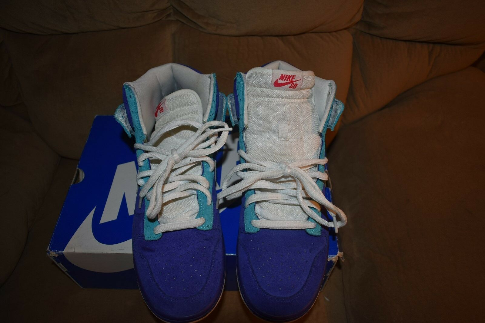 2009 Nike SB Dunk High Ocean Airlines Germain Blue 305050-400 Size 11.5 LOST