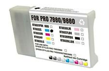 Light Cyan ink toner cartridge for Epson Stylus T6035 9880 7880 inkjet printer
