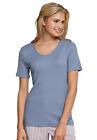SCHIESSER donna maglietta 1/2-Arm tg. 36-44 M-4XL Maglia per andare a dormire