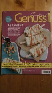 """Zeitschrift: """"Lust auf Genuss"""", Eis & Sorbets, Ausgabe Nr.8 / 2015, - Gundelfingen, Deutschland - Zeitschrift: """"Lust auf Genuss"""", Eis & Sorbets, Ausgabe Nr.8 / 2015, - Gundelfingen, Deutschland"""