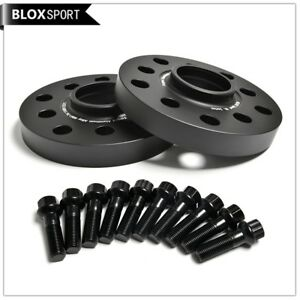2Pc 15mm 5x100 5x112 Hubcentric Wheel Spacer CB57.1 for Audi A3 A4 S4 TT VW Golf