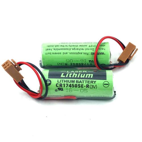 10 un CR17450SE-R//A98L-0031-0012 3 V 2500 mAh batería para Fanuc Plc Con Enchufe