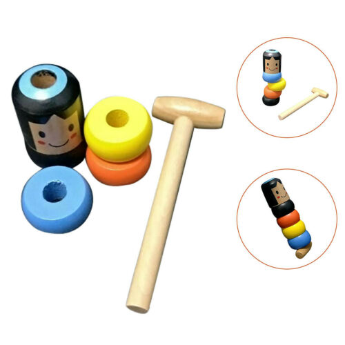 HOT SELL Magic Toy Unbreakable Wooden Man FOR Children Best Gifts US
