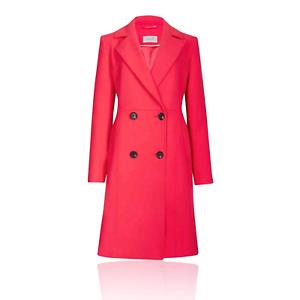 Marks /& Spencer PER UNA T491212U Stitch Detail Textured Coat RRP £89