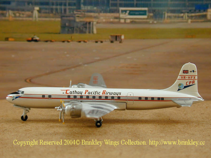 Cathay Pacific DC-6B (VR-HFX), RARE