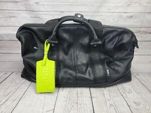 Details about Mini by Puma Black Weekender Expandable Bag Mini Cooper