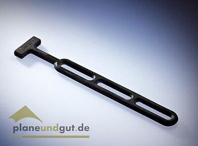 Gummistroppe,L= 280mm 10 x Gummistroppen schwarz Naturkautschuk verstellbar