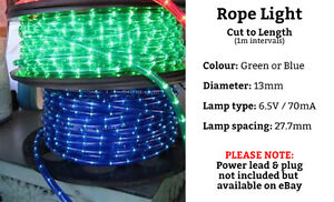Image Is Loading Stirbright Christmas Rope Light Cut To Length From