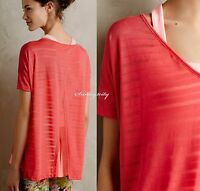 Anthropologie High-low Crossback Top By Beyond Yoga Size Xs, S Made In Usa