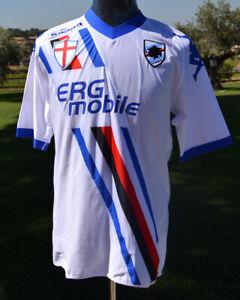 Maglia-Jersey-UC-Sampdoria-2010-11-Tim-Cup-Match-Worn-Gastaldello