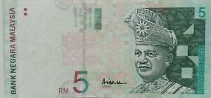 RM5 Ali Abul Hassan sign Note AK 3955830