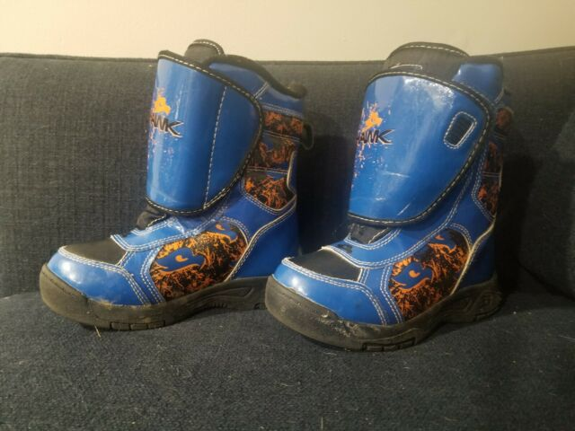 Tony Hawk Thermolite Insulated Waterproof Snow Boots Toddler Size 12