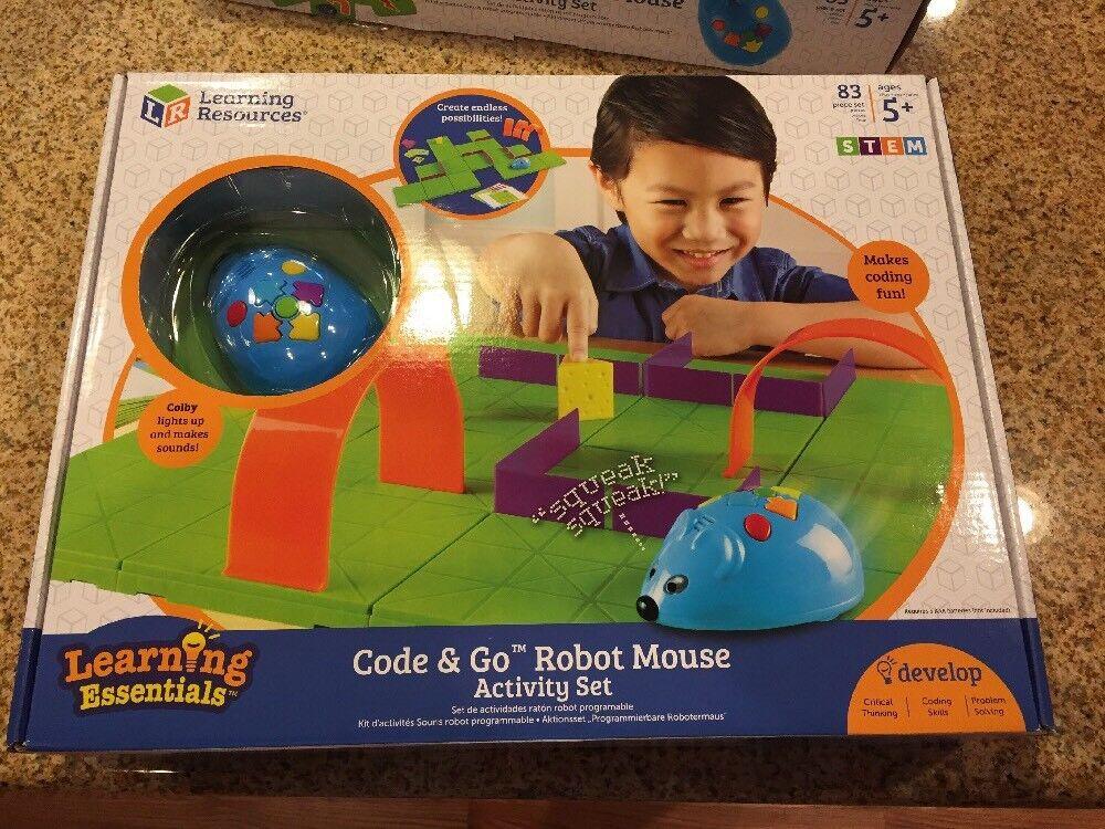 Código de recursos de aprendizaje IR Robot Ratón tecnología, ingeniería Juguetes de Actividad Set