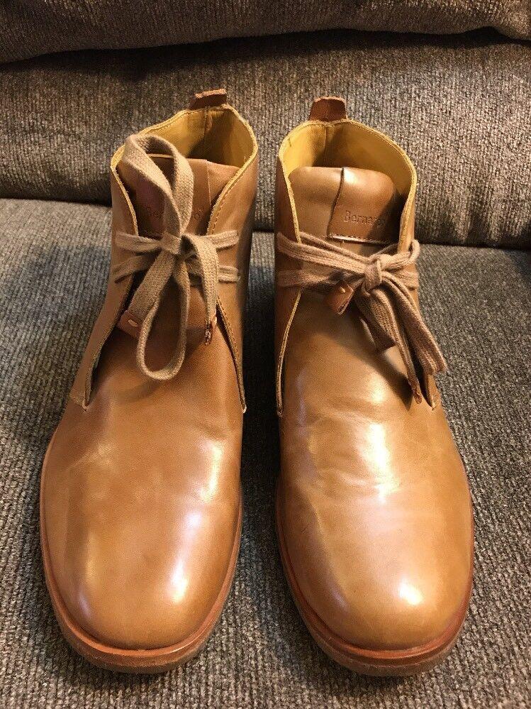 Bernardo Ankle Boot Tan  Brown Leather Women's Size 9.5