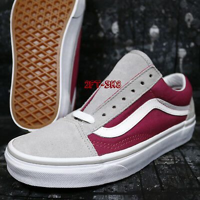 Skate Shoes S89138 149Ebay Skool Old 5 Vans Women's Drizzle Sangria 5 tQsChrdx