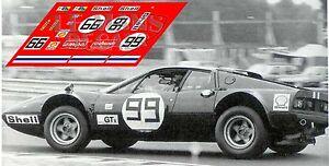 Belle Calcas Ferrari 365 Gt4 Bb Le Mans 1975 99 1:32 1:43 1:24 1:18 Decals