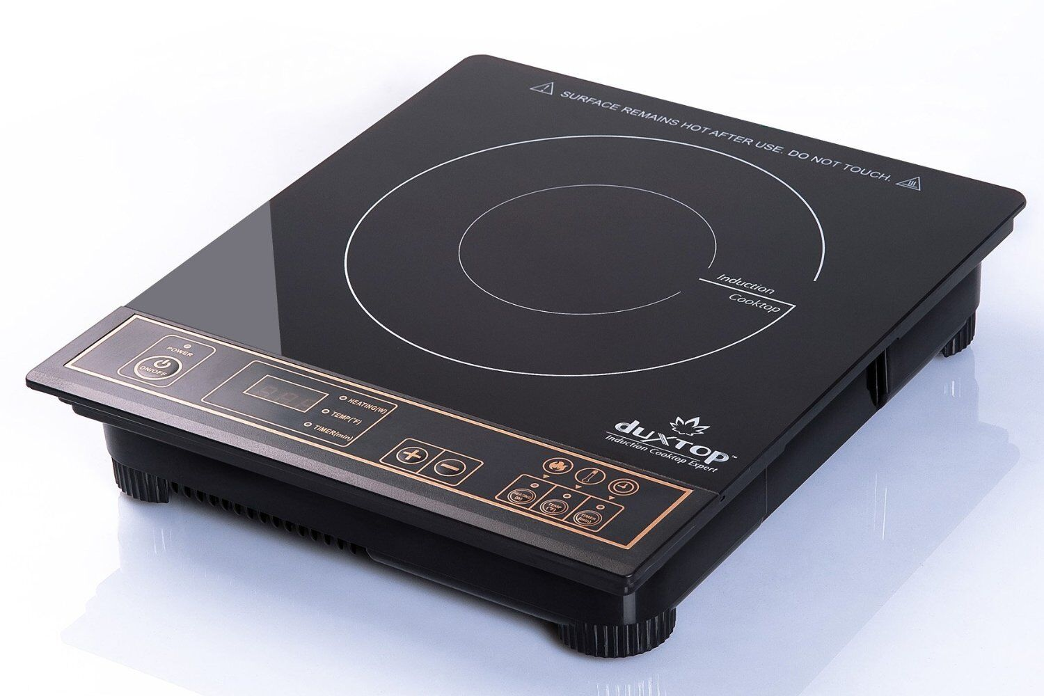 Electric Single Burner HotPlate Compact Induction Cooktop Burner Cooks Faster