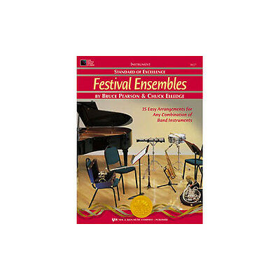 Trumpet/bar Tc Open-Minded Kjos W27tp Soe Festival Ensemble Book 1 Hot Sale 50-70% OFF