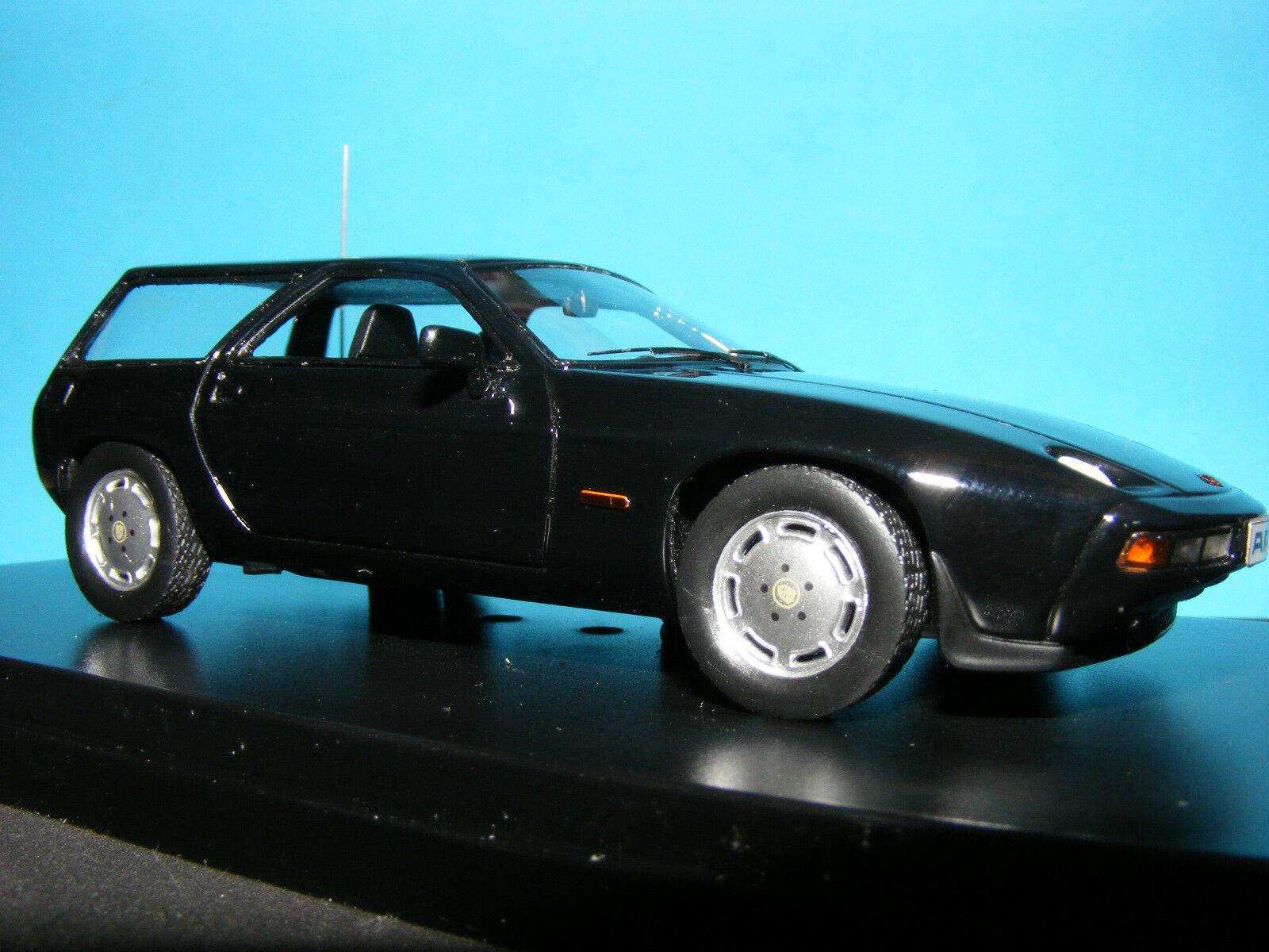 Porsche 928 S Kombi in noir (Noir) 1979 NLA très rare PREMIUM X modèle.