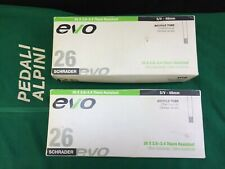 48mm Presta PAIR 2-PACK Evo THORN RESISTANT Bicycle Inner Tubes 26 x 2.0-2.4