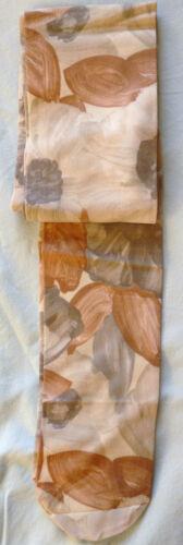 Collector Collant Opaque Année 70 Vintage  Motifs Marron  Gris Taille  2 et 3