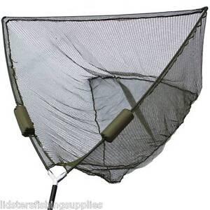 """50"""" pouces large carpe brochet pêche épuisette avec double nette de 2 flotteurs ngt tackle-afficher le titre d`origine LJ2uL0xg-07162615-455278674"""