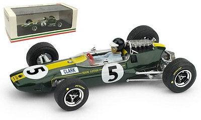 Brumm R590-CH Lotus 33 #5 British GP 1965-Jim Clark campeón mundial escala 1//43