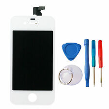 NEW iPhone 4 Screen / Touch Digitizer Assembly WHITE  + Free Tools