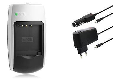 Chargeur NP40 pour SilverCrest Caméscope SCAW 5.00 A1 (LIDL