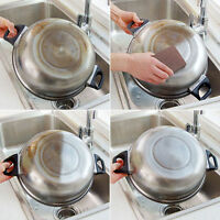 1pcs Kitchen Nano Emery Magic Clean Rub Pot Rust Focal Stains Sponge Removing