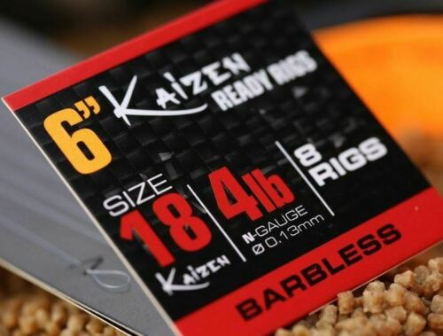 """Free Delivery Guru Kaizen 6/"""" Pole Ready Rig x3 Packs *New*"""