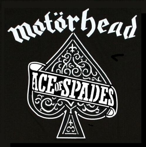 Alto detalle aerógrafo de plantilla Ace of Spades Motorhead gastos de envío gratis