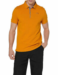 Polo-uomo-100-Cotone-THE-NORTH-FACE-Premium-Pique-Col-CITRINE-YELLOW-P-E-2019