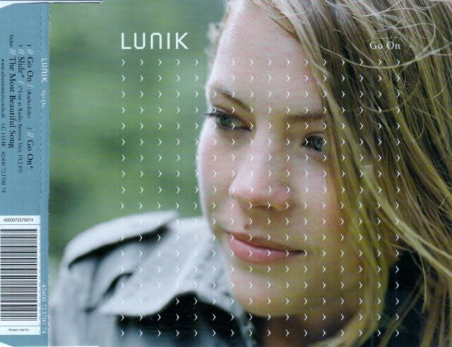 LUNIK : GO ON / CD