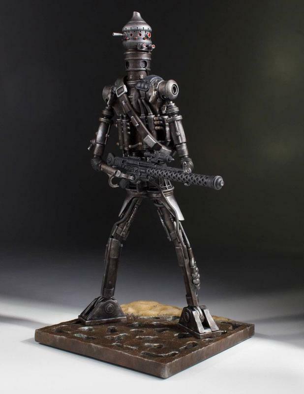 Estrella Wars statuette Collectors Gallery 1 8 IG-88 24 cm statue Gentle Giant 22052