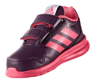 premium selection c9ec8 360d0 Image is loading Adidas-Kids-Shoes-Girls-Running-AltaRun-Infants-Training-