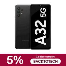 SAMSUNG GALAXY A32 5G DUAL SIM SM- A326B DS 128GB RAM 4GB BLACK ITALIA BRAND