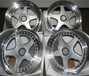 17-034-SILVER-DR-F5-ALLOY-WHEELS-FIT-BMW-1-3-SERIES-E36-E46-E90-E91-E92-Z3-Z4-M12