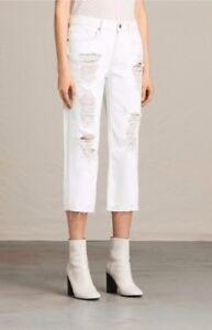 Taille Ivy 28 All Jeans Saints Blanc Destroys wgn66qRXO