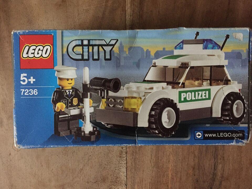 Lego City, 7236 Police Car