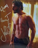 "True Blood Autograph 8x10 Photo Joe Manganiello ""Alcide Herveaux"" (LHAU-733)"
