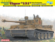 "1/35 German Tiger I ""131"" Early Prod. s.Pz.Abt. 504 Tunisia ~ Dragon DML #6820"