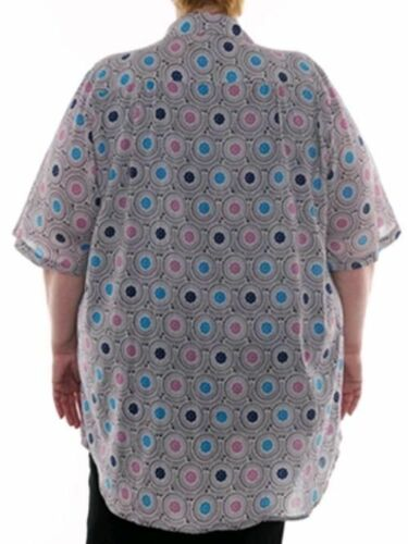 WE BE BOP All-Cotton New Tunic Top Agate Crystal BOPtops blouse Plus Size