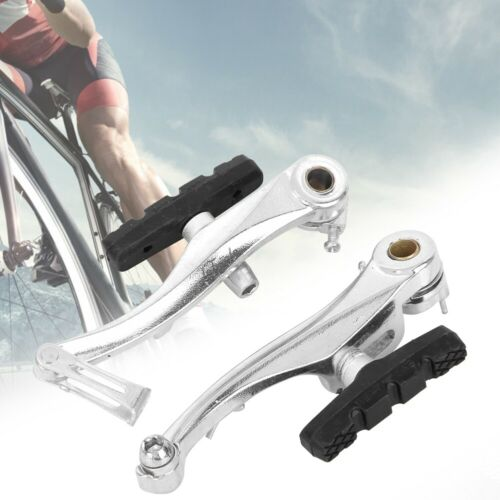 1Pair Mountain Cycling BMX MTB Bike Bicycle V Brake Levers Cables Complete Set
