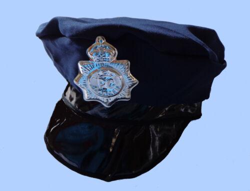 BABY berretto AMERICAN poliziotto AGENTE DI POLIZIA SPECIAL poliziotto CAP BLU SCURO NUOVO