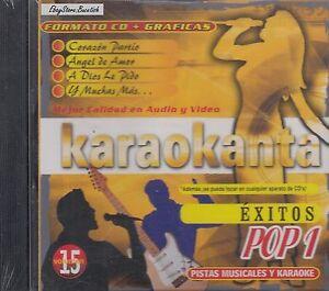 Alejandro-Sanz-Chayanne-Mana-Shakira-Pop-1-Multi-Karaoke-Nuevo-SEALED