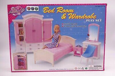 My Fancy Life Gloria 24014 Bed Room Wardrobe Play Set Ebay