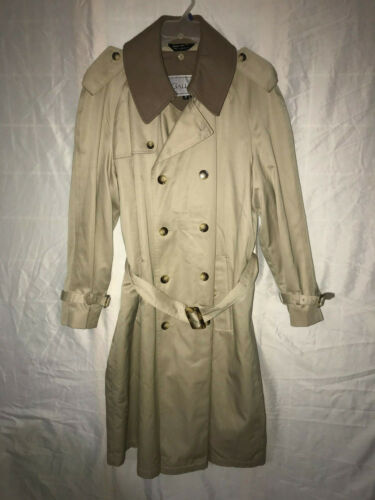 GALLEON TRENCH COAT REMOVABLE LINING SIZE 42R