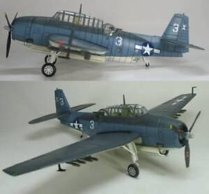 Hobby-Master-HA1201-TBF-Avenger-USN-VT-51-George-Bush-USS-San-Jacinto-Sealed