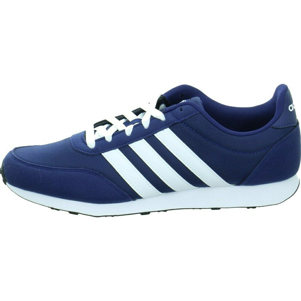 Adidas V Racer 20 b75795 azul zapato bajo
